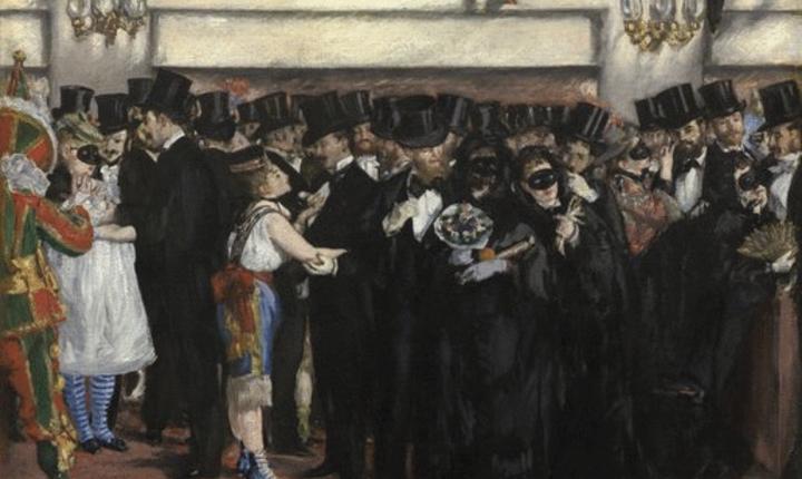 Edouard Manet, Bal masqué à l'Opéra, The National Gallery of Art, Washington, USA