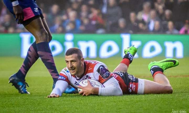 În finala Cupei Challenge s-au întâlnit Gloucester din Anglia și Stade Francais. Jonny May a deschis scorul pentru englezi printr-un eseu pe intercepție