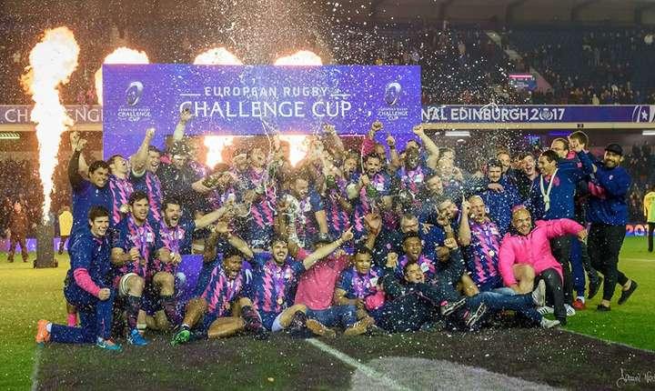 Stade Francais a obținut victoria cu 25 - 17 și a câștigat primul său trofeu european