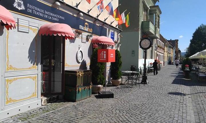 cea mai frumoasă stradă din Sibiu ...