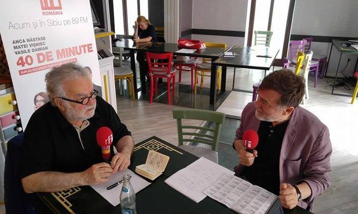 criticul de teatru George Banu în dialog cu Matei Vișniec