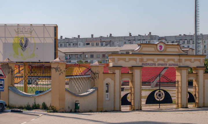 Stadionul echipei Milsami din Orhei