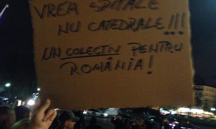 """""""Vrem spitale nu catedrale"""" s-a scandat la Paris"""