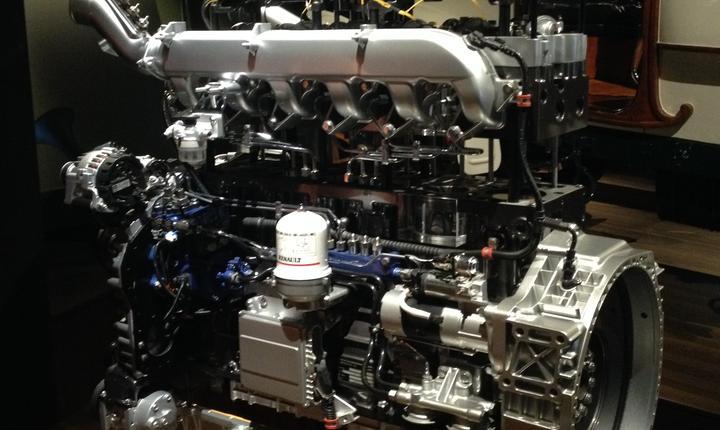 Motor diesel de camion Renault