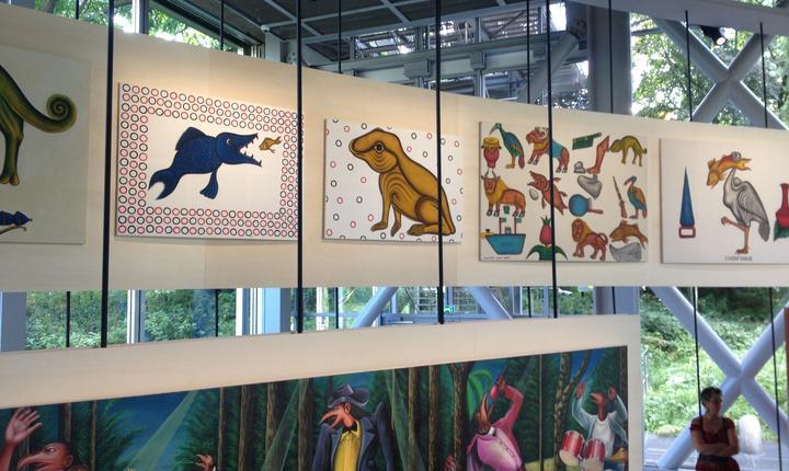 Opere ale artistului Cyprien Tokoudagba, 1994-2008