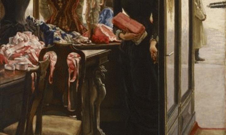 James Tissot, La demoiselle de magasin, Art Gallery of Ontario, Toronto, Canada