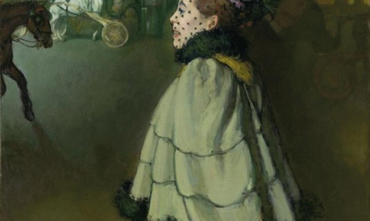 Louis Anquetin, Femme sur les Champs-Elysées la nuit, Van Gogh Museum, Amsterdam, Holland