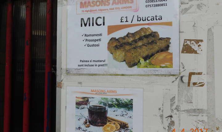 Din meniul restaurantelor românești nu lipsesc tradiționalii mititei
