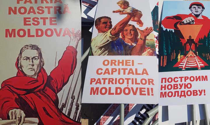 Pancarte folosite in timpul
