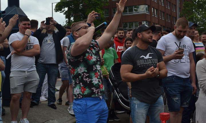 La Barking în estul Londrei atmosfera era extrem de ostilă PSD-ului