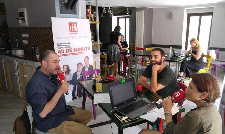 cu Cătălin Ștefănescu și Bogdan Georgescu
