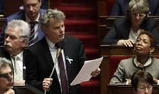 Fabien Roussel, deputat comunist, viitor lider al Partidului Comunist Francez.