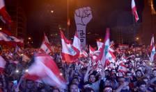 Manifestaţie paşnică la Beirut în noiembrie anul trecut.
