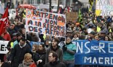 Manifestatie la Paris contra reformei pensiilor, 4 ianuarie 2020