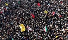 Busculadă soldată cu morţi şi răniţi la înmormîntarea generalului Soleimani, Kerman, 7 ianuarie 2020