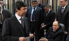 Abdelaziz Bouteflika în aprilie 2014 cînd a fost reales pentru a patra oară în fruntea statului