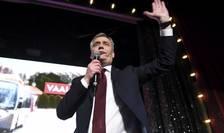 Antti Rinne, liderul Partidului social-democrat finlandez, victorios la legistalive, în aprilie 2019.