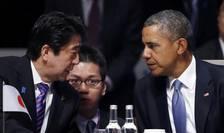Shinzo Abe si Barack Obama