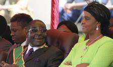 Robert Mugabe si sotia sa Grace