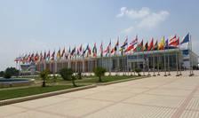 Centrul international de conferinte care gàzduieste al 16-lea sommet al Francofoniei, Madagascar