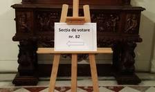 Douà sectii de votare erau gàzduite de Palatul Béhague, resedinta ambasadorului României în Franta