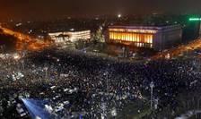 Bucureşti, Piaţa Victoriei, 5 februarie 2017