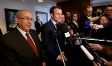 Emmanuel Macron la Alger pe 13 februarie 2017