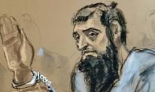 Sayfullo Saipov, autorul atentatului de la New York, la Tribunalul fédéral din Manhattan, miercuri 1 noiembrie 2017.