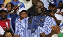 George Weah, fost fotbalist, noul presedinte al Liberiei