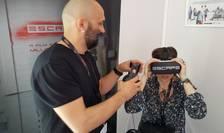 """Millo Simulov, creatorul lui """"Escape"""", prima fictiune VR româneascà, în pline explicatii la Cannes"""