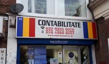 Firmă românească de contabilitate în Burnt Oak, nord vestul Londrei