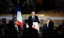 Emmanuel Macron la precedentul summit Choose France