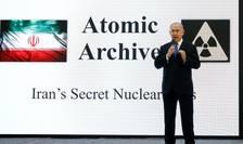 Primul ministru israelian Benyamin Netanyahu: conferinta de presa pe 30 aprilie 2018 privind programul nuclear secret iranian.