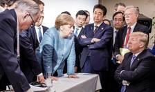 Donald Trump la reuniunea G7 din iunie 2018