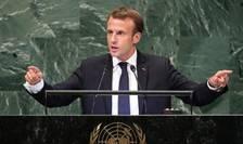 Emmanuel Macron la tribuna ONU, 25 septembrie 2018