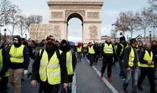 """Veste galbene"" pe Champs-Elysées, sîmbătă 15 decembrie"
