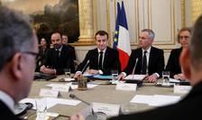 Reuniune în jurul  preşedintelui pe 10 decembrie 2018 pentru pregătirea discursului.