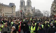 """""""Veste galbene"""" la Paris, sîmbătă 5 ianuarie 2019"""