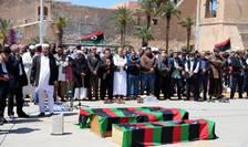 Victime la Tripoli în urma unui bombardament, 17 aprilie 2019
