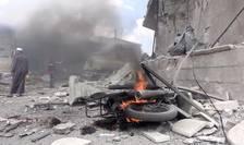 Bombardamente la Idleb în iulie 2019