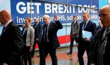 Premul ministru britanic Boris Johnson în septembrie 2019 la Congresul Partidului Conservator
