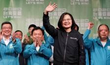 Tsai Ing-wen a fost realează preşedinte în Taïwan, sîmbătă 11 ianuarie, în ciuda ajutorului acordat adversarului ei de către China comunistă