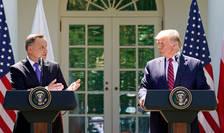 Andrzej Duda și Donald Trump