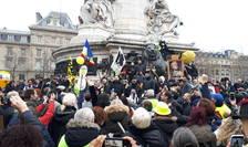 Manifestatie contra proiectului de reformà a pensiilor, 9 ianuarie 2020