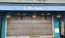Cafeneaua La Belle Equipe, acolo unde au fost ucisi de jihadisti Làcràmioara Pop si Ciprian Calciu, alàturi de alti 19 oameni, în seara de 13 noiembrie 2015.
