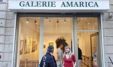 Trei artisti timisoreni au fost expusi la Galeria Amarica din Paris.
