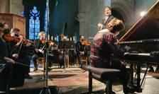 Pianista Dana Ciocârlie a interpretat Concertul pentru pian nr.8 de Mozart în compania Open Chamber Orchestra condusà de Yaïr Benaïm.