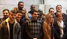 22 de refugiati au beneficiat la începutul acestui an de programul 'Hope' în regiunea pariziana, destinat integrarii azilantilor pe piata muncii.