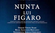 """Fragment din afisul evenimentului """"Nunta lui Figaro"""""""