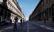 Rue de Rivoli, luna mai 2020
